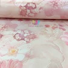 Pink Pattern Wallpaper Unique Decoration