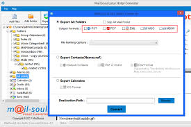 Lotus Notes How To Export Lotus Notes Address Book To Outlook