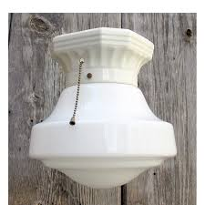 this 1920s porcelain light fixture typified the fixtures of the era image by hannah manning via materials unlimited