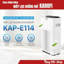 Máy lọc không khí Karofi KAP-E114, Công nghệ thông minh với 4 lớp lọc loại  bỏ 98,63% bụi bẩn giá bán 2.489.000₫