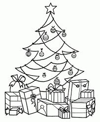 Christmas Tree Coloring Pages Printable Free Printable Christmas