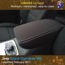 custom fit waterproof neoprene jeep grand cherokee console lid cover