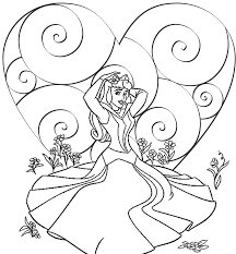 Small Picture Coloring Pages Printable Disney Princess Coloring Pages