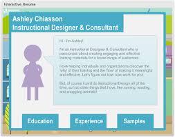 Instructional Design Resume E Learning Challenge 31 Creative Resume Templates For E Learning