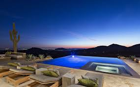 infinity pool house. Modren House Agreeable Infinity Pool City Patio Creative By Lighting  Jacuzzi Mountain Viewsjpg Gallery In House D