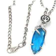 final fantasy necklace crystal chronicles yuna pendant square enix jewelry geek jewelry