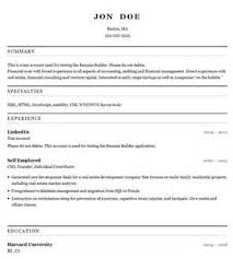 resume builder create a resume from your linkedin profile what are some free resume builder sites