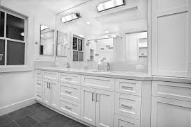 white bathroom cabinets. retro white bathroom cabinets with huge mirror: 4 smart ways to apply i