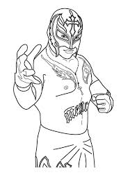 World wrestling entertainment, even though it may seem a bit brutal to us, has. World Wrestling Entertainment Wwe Rey Mysterio Coloring Page Smackdown Wwe Coloring Pages Coloring Pages Wwe