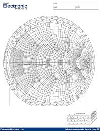 Smith Chart Jpg Smith Chart Graph Paper To Download And Print Electronic