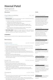 How To Write A Resume For An Internship Beautiful Engineering Intern
