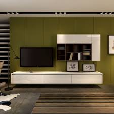 ... Wall Units, Breathtaking Entertainment Shelving Unit Tv Entertainment  Center White Wooden Floating Cabinet With Shelves ...