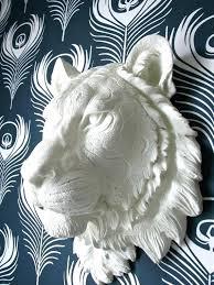 tiger wall hanging image 0 rug white