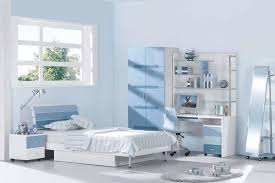 blue bedroom decorating ideas for teenage girls.  Ideas Beautiful Teenage Bedroom With Soft Blue Color In Decorating Ideas For Girls