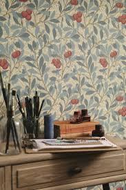 Arbutus Design Arbutus By Morris Woad Russet Wallpaper 214718
