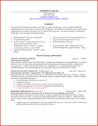 Executive Assistant Resume Executive Assistant Resume Pdf Job Objective Cover Letter 60