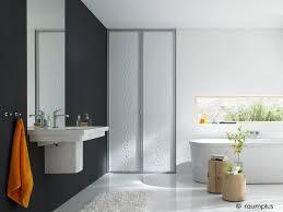 new raumplus bi fold door contemporary bathroom