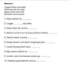 Buku siswa rancage diajar basa sunda kelas ii cv aryaduta. Jawaban Buku Jawaban Bahasa Sunda Kelas 5