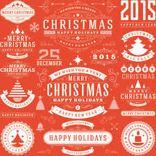 merry christmas and happy holidays clip art. Modren And 2015 Christmas With Happy Holiday Labels Vector With Merry Christmas And Happy Holidays Clip Art S