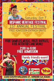Hispanic family activities Literacy Practices Hispanic Heritage Festival Sf Funcheap Hispanic Heritage Festival Template Postermywall