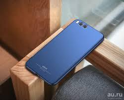 MSVII <b>Пластиковый бампер</b> для Xiaomi Mi6 | Цвет синий ...