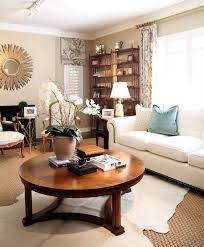 enchanting decorating a round coffee table with how to decorate a round coffee table starrkingschool