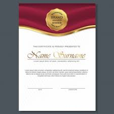diploma vectors photos and psd files  beautiful certificate template design best award symbol