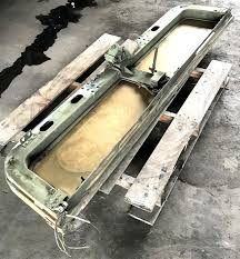 complete fold down windshield frame for