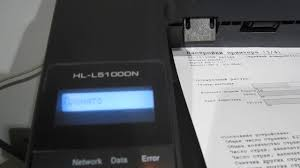 Программный сброс счетчика тонера <b>Brother Hl</b>-L5100DN ...
