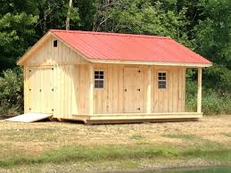 10u0027 x 18u0027 shed with 4u0027 porch metal roof windows and extra door handmade by amish delivered amish roofing36