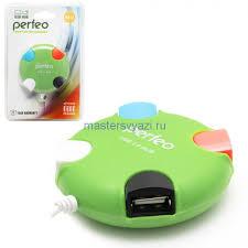 <b>USB</b> HUB <b>Perfeo</b> PF-VI-H020, на 4 порта купить в интернет ...