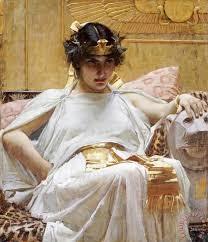 cleopatra painting john william waterhouse cleopatra art print