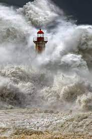Foto: *Stormy Seas - Lighthouse Porto, Portugal... | Lighthouse, Lighthouse pictures, Lighthouses photography