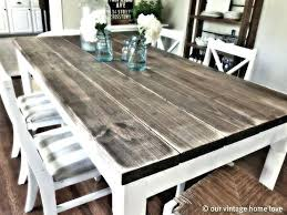 rustic dining table diy. Rustic Dining Table Diy Kitchen Square  Build Outdoor . T