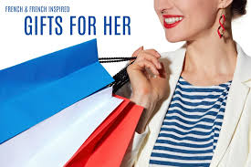 french and french inspired gifts for her