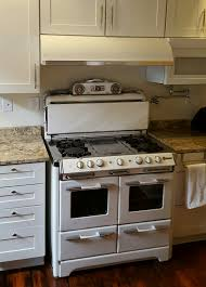 Kitchen Stove Vent Vintage 1950s Okeefe And Merritt Stove Paired With A New Range