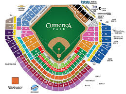 Metallica Comerica Park Seating Chart Green Day Fall Out Boy And Weezer 313 Presents