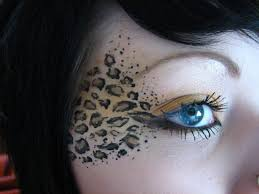 easy leopard eye makeup