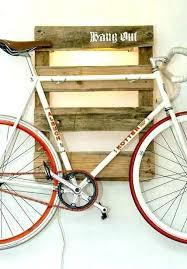 bike hanging rack bike hanger s shelf plans hanging rack garage wooden bicycles in from ceiling