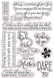 Arriettycraft Englische Sprüche Gefühle Phrase Hund Blumen Stempel