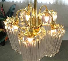 chandeliers crystal rod chandelier wrought iron s rectangular 1920s es 20 crystal rod chandelier