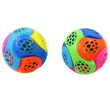Light Up Ball Game Us 4 18 31 Off Fashion Music New Light Up Ball Flash Kid Creative Puzzle Electric Bouncing Toy Wooden Training Toy For Birthday Kid Gift 7 2 In