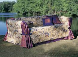 how to make furniture covers. A Sofa Wrap Is Made Of Three Elements: An Underlayer, Cross-shaped Top Piece, And Decorative Treatment At The Corners. How To Make Furniture Covers