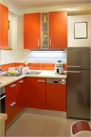 green kitchen design small space bright