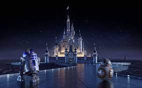 Star Wars Cinderella Castle #4K ...