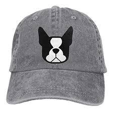 Juicetshirts Boston Terrier Denim Baseball Caps Hat