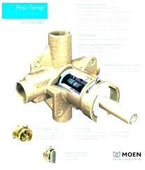 old moen shower valves how moen shower valves types