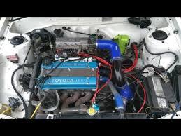 AE92 4AGE Turbo vs Opel 200TS - YouTube