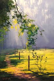 40 beautiful oil paintings like you have never seen before sunlight respect and fences