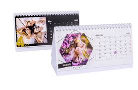 Photo Calander Photo Desk Calendar Make Your Own Personalised One